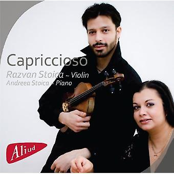 Stoica / Paganini / Porumbescu - Capriccioso [CD] USA import
