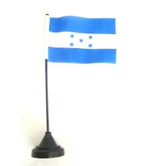 Honduras Table Flag with Stick and Base