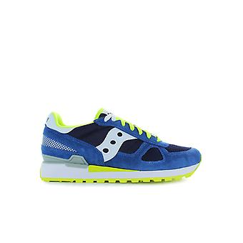 SAUCONY ORIGINALS SHADOW BLUE/YELLOW SNEAKER
