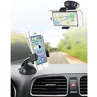 Muvit universal bil holder 360 ° for forrude montering, Smartphone 8, 8 cm