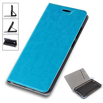 Flip / smart cover blue for Samsung Galaxy S9 plus G965F protective case cover pouch case cover new case
