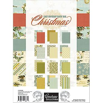 Couture Creations A4 Double-Sided Paper Pad 36/Pkg-A4 8.2