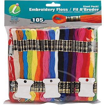 Embroidery Floss Giant Pack 8.7Yd 105/Pkg