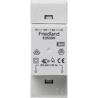 Friedland E3538N Bell transformer 12 V AC 1.5 A