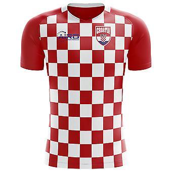 2018-2019 Kroatia flagg konseptet fotball skjorte (barn)