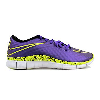 Nike Free Hypervenom Hyper Grape/Volt-Black-White 705390-570 Grade-School