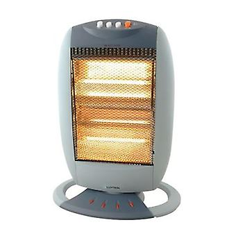 Lloytron 3 Bar Halogen Heater Small 1200 Watt Grey (F2106GR)