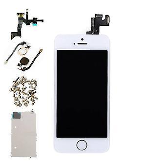Stuff Certified® iPhone SE фронт смонтирован дисплей (LCD + сенсорный экран + частей) A + качество - белый