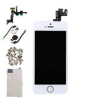 Stuff Certified® iPhone SE Front montiert Display (LCD + Touchscreen + Teile) A + Qualität - weiß
