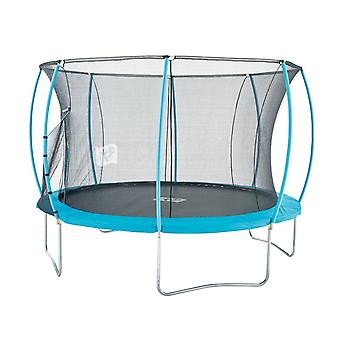 TP Toys 12ft Hip Hop Trampoline Blue