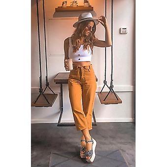 IKRUSH Womens Joanne Straight Leg Jeans