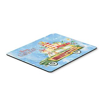 Carolines Treasures  CK2451MP Merry Christmas Corgi Mouse Pad, Hot Pad or Trivet