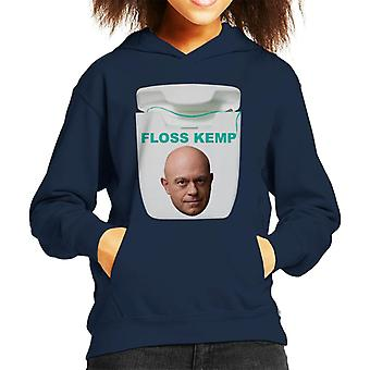 ロスケンプフロスは言葉の子供のフード付きスウェットシャツに再生