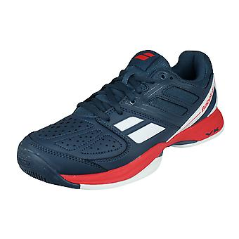 Babolat Pulsion All Court Mens Tennis Trainers / Shoes - Grey and Red