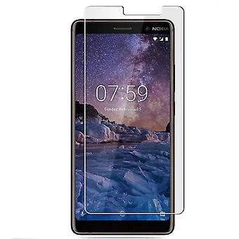 Nokia 7 Plus protector de pantalla de vidrio templado por menor