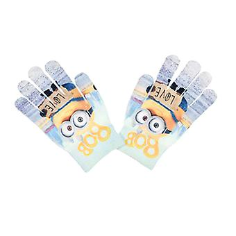Minions Mittens Camouflage One Size Blue/Grey