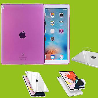 For Apple iPad Pro 12.9 inch 2018 new version pink bag sleeve case cover TPU silicone thin