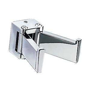 Gedy Glamour Double Swing Robe Hook Chrome 5728 13