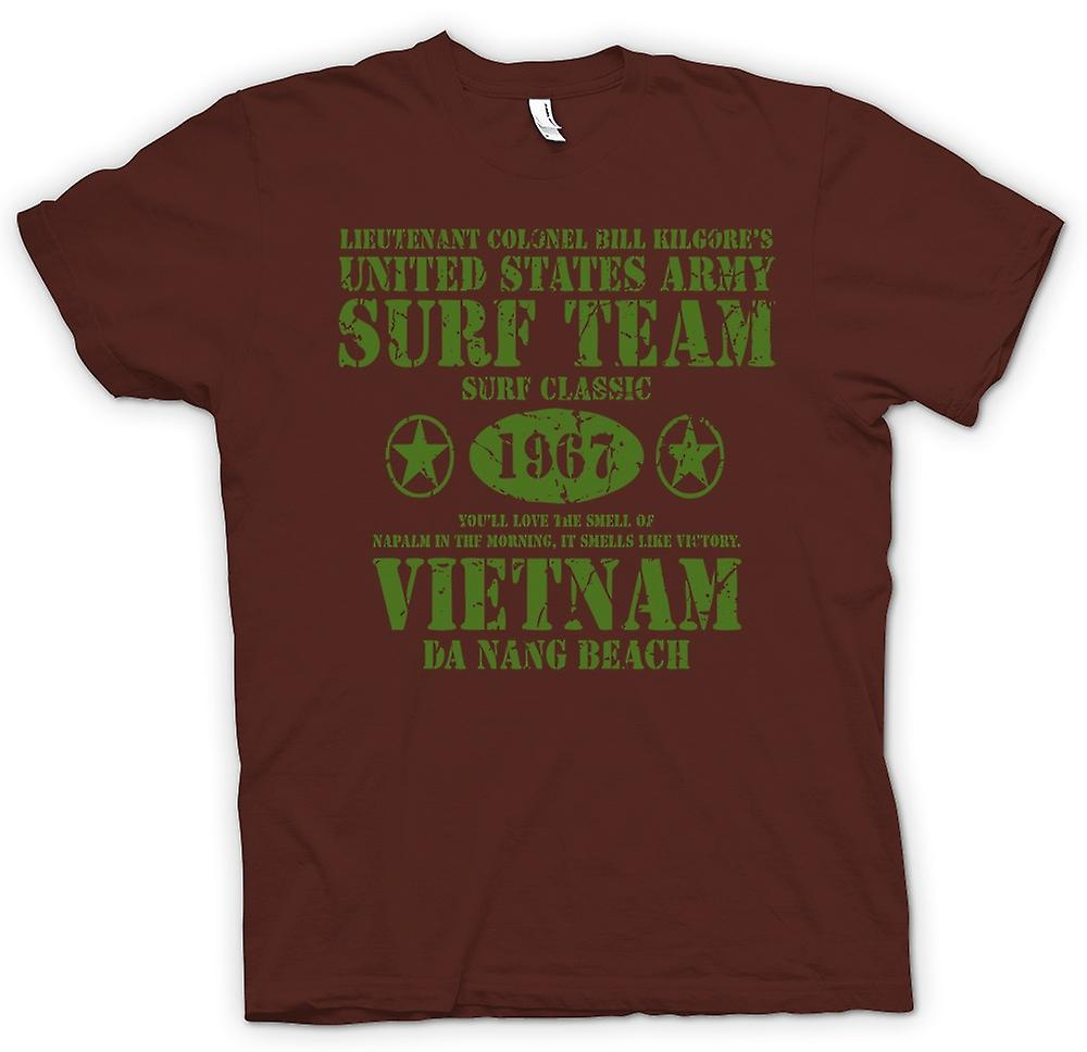 Mens t-shirt-Apocalypse ora Kilgores Surf Team