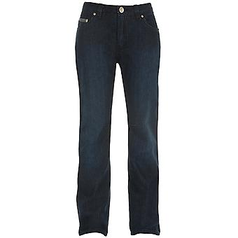 Bull-It Blue Italian Easy SR6 Boot Cut - Regular Womens Motorcycle Jeans