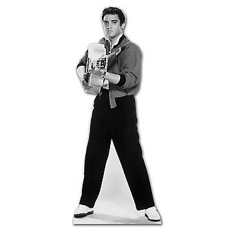 Elvis Shooting with Guitar - Lifesize Cardboard Cutout / Standee