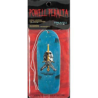 Powell Peralta Blue Ray R Skull And Sword Air Freshener