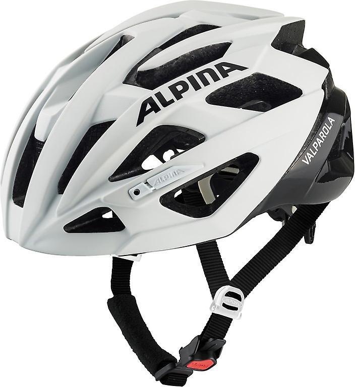 Casque de vélo Alpina Valparola   blanc noir