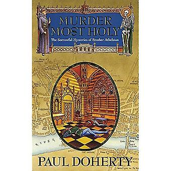Murder Most Holy (Sorrowful Mysteries of Brother Athelstan)
