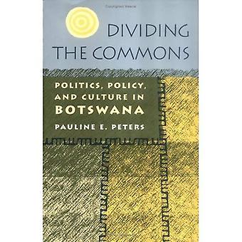 Dividere i beni comuni: politica, politica e cultura in Botswana