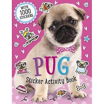 Mops klistermärke aktivitetsbok (klistermärke aktivitetsböcker)