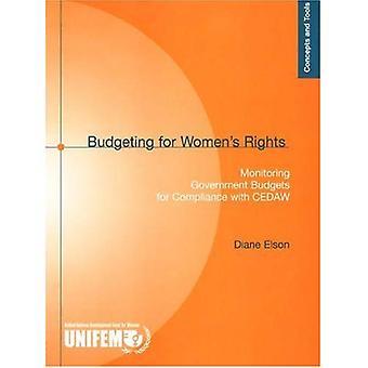 Budgettering voor de rechten van de vrouw: Monitoring van de overheidsbegrotingen voor naleving van de CEDAW (concepten en instrumenten)