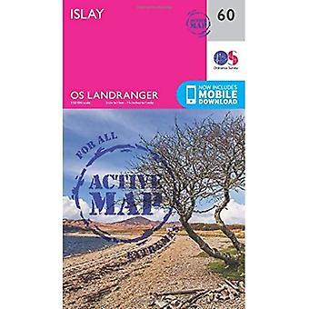 Islay (OS Landranger Map)