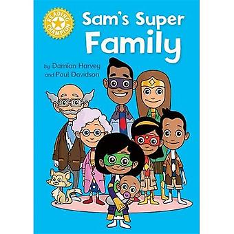 Reading Champion: Sam's Super Family: Independent Reading Yellow (Reading Champion)