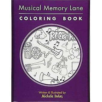 Musical Memory Lane Coloring Book