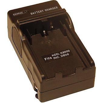AC/DC Ladegerät für Kodak KLIC-8000 KLIC8000 EasyShare Z8612 ist Z612 Z712 Z812 Z1012 Z812