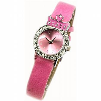Spirit Princess Pink Furry Watch  Pendant Purse Girls Jewellery Gift Set AKG-02