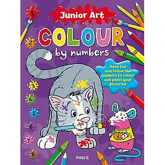 Cat - Colour By Numbers by Anna Award - 9781841358604 Book