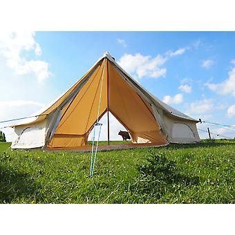 6M Double Door Canvas Bell Tent