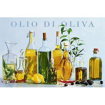Poster - Studio B - 24x36 Olio di Oliva Wall Art CJ1454