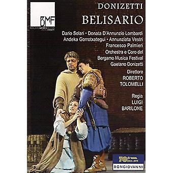 Belisario [DVD] USA import