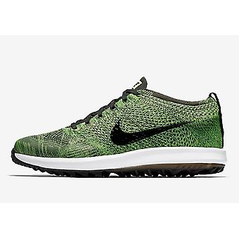 Nike Flyknit Racer G 909756 700 Mens Golf Shoes
