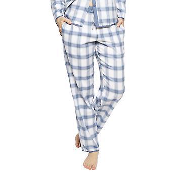 Cyberjammies 4241 vrouwen ' s Harper Blue mix check katoen pyjama Pant