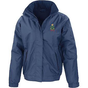 Exército real corpo médico veterano-licenciado British Army jaqueta impermeável bordado com velo interior