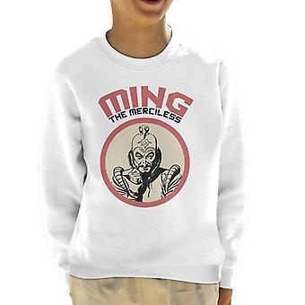 Flash Gordon Ming The Merciless Retro Kid's Sweatshirt