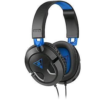 Koch media recon headphone with microphone gaming cable 1.5 mt jack 3.5 mm color black/blue