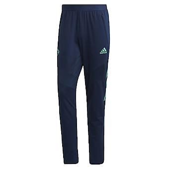 2019-2020 Real Madrid Adidas EU Training Pants (Night Indigo)