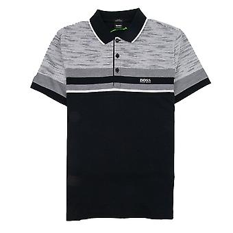 Hugo Boss Paule 5 Short Sleeve Polo Shirt Black/grey