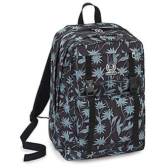 Backpack Duffy Invicta - Primerose - Black - 30 Lt - Double Compartment - Laptop Pocket Up to 15'' - School & Leisure