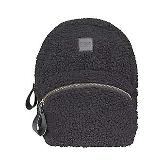 Urban Classics Sherpa Mini Backpack Borsa Messenger - 25 cm - Nero (Black)