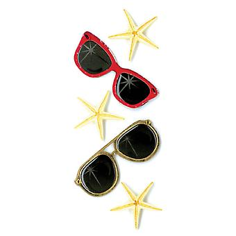 Jolee's By You Dimensional Stickers Slim Sunglasses E5040051